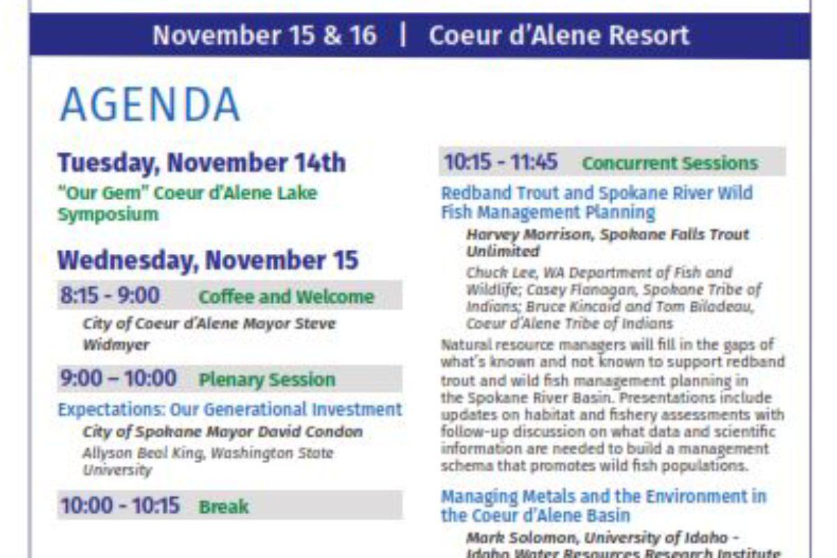 Full SRF Conference Agenda Online